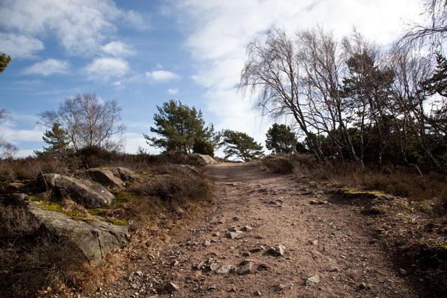 änggårdsbergen grusväg